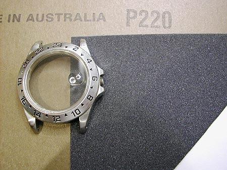 Rolex Case polishing